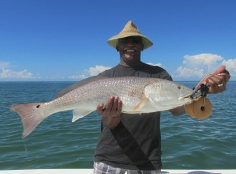 Redfish fishing tactics