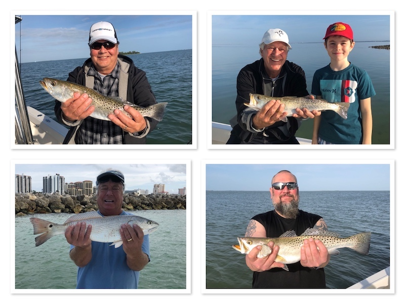 Redfish, Pompano and trout fishing in Tampabay