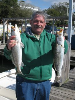 two nice trout