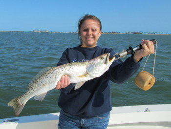 Tampa Fishing for Big Seatrout
