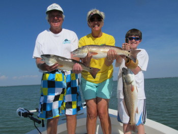 Tampa Fishing Charter for Redfish