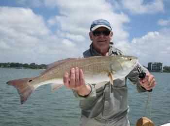 mans nice redfish