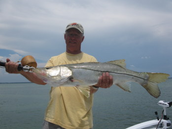 man with big snook