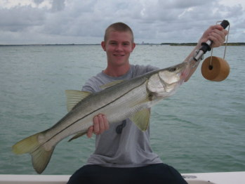 Tampa Fishing for Big Snook